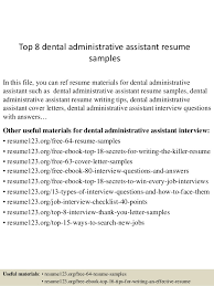 Resume Samples For Executive Assistant by Medical Office Administration Resume Objective Medical Office