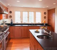 Paint Colors For Kitchens With Cherry Cabinets Delighful Cherry Cabinets Kitchen Z Intended Design