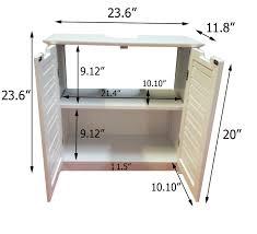 Media Storage Pedestal Non Pedestal Under Sink Storage Vanity Cabinet So Romantic Taupe