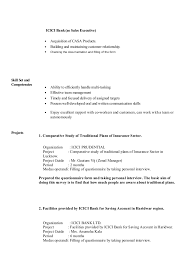 Bank Sales Executive Resume Resume Vivek