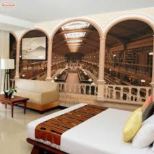 aliexpress com buy shinehome rome column library bookshelf 3d