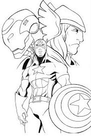 coloring pages of the avengers printable thor coloring pages for kids 360coloringpages
