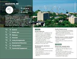 madison named the best place to retire u2013 of human ecology