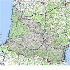 Map South Of France by Anquet Maps The Best Outdoor Map Navigator