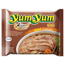 cuisine yum yum instant beef noodles
