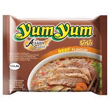 cuisine yum yum instant beef noodles