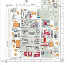 Csulb Campus Map Subway California State University Northridge