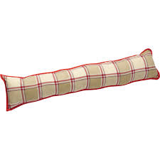 decorative door draught stop excluder soft cushion traditional