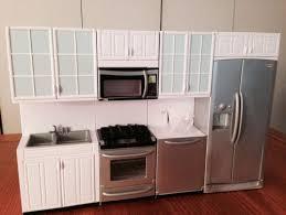 dollhouse kitchen furniture 4 vogue modern kitchen set lower price stove