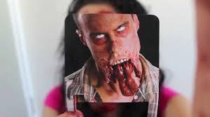 split jaw halloween makeup tutorial the walking dead inspired