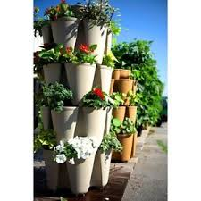 greenstalk stackable vertical garden vegetable flower stacking