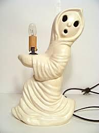 halloween ceramic molds halloween vintage ceramic ghost lamp 40 00 via etsy holidays