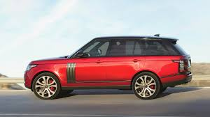 range rover modified red new 2017 range rover svautobiography dynamic official launch youtube