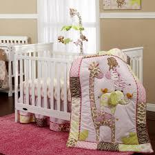 Nojo Jungle Crib Bedding by Baby Crib Bedding Patterns Sears