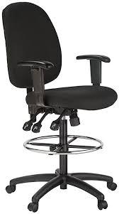 Ergonomic Drafting Table Amazon Com Harwick Extra Tall Ergonomic Drafting Chair Black