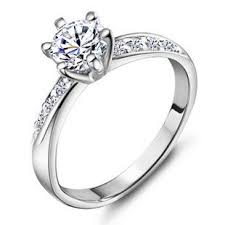 cheap personalized jewelry custom name engraved diamond korean style promise ring for