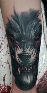 werewolf cover up tattoo by alan aldred tattoonow