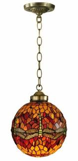 Glass Kitchen Light Fixtures Stained Glass Hanging Pendant L Foter