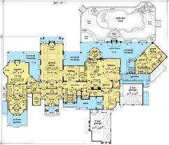 italian villa floor plans plan w33574eb premium collection mediterranean luxury