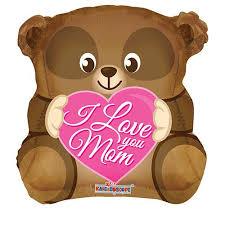 teddy bears inside balloons 18 happy s day feliz dia foil mylar balloon