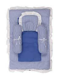 Baby Cribs Online Shopping by Buy Affaires Baby Bed With Head Pillows Small Two Bolsters Gadi
