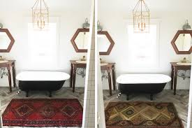 Rug In Bathroom New Rug For The Master Bath Thewhitebuffalostylingco