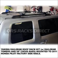 2013 honda pilot crossbars 2011 honda pilot roof rack cross rails for side rails 125 2 car