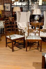 set of eight chippendale dining chairs at 1stdibs