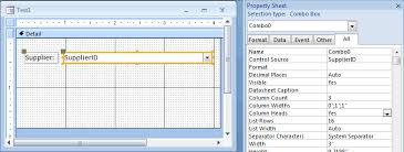 Count Characters In Access Ms Access 2007 Display Column Headings In A Combo Box