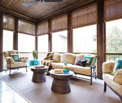 blinds galore trend charleston tropical porch decorators with