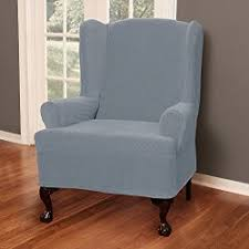 slipcover wing chair wing chair slipcovers wingback chair covers