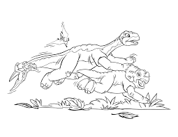 land before time coloring pages itgod me