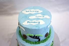 jungle animal baby shower around the world in 80 cakes