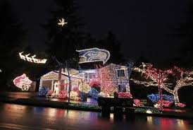 hawk house u0027 goes dark seahawks themed christmas light show too