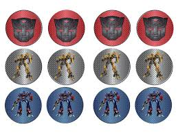 transformers bumblebee and optimus party cake topper transformers autobots cupcake toppers bumblebee optimus prime