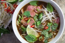 pho cuisine pho bo beef noodle soup certified low fodmap by monash