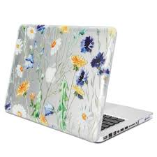 flower pro transparent fresh floral glossy for 13 inch macbook pro