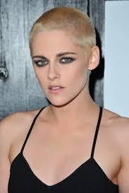 kristen stewart shaved off all her hair and went bright blond