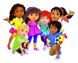 coloring pages dora and friends into the city feed
