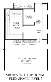 Floor Plans In Spanish by Toll Brothers At Robertson Ranch The Bluffs The Cristiana Home