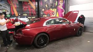 roll royce wraith matte rolls royce wraith wrapped stealth style youtube