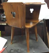 maple nightstand ebay
