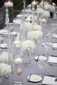 silver centerpieces silver wedding table decorations wedding corners