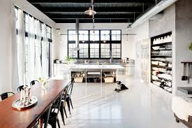 open floor plans with loft open floor plan dining room kitchen industrial loft cococozy nyt