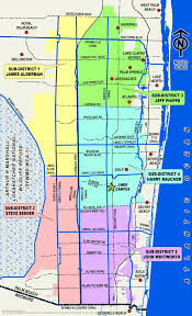 map of delray sub district election map lake worth drainage district