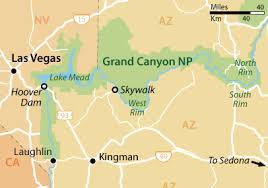 map las vegas and grand grand wanderings