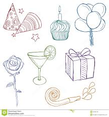 birthday decorations to draw image inspiration of cake and