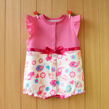 2018 baby clothing summer newborn designer baby clothes dress