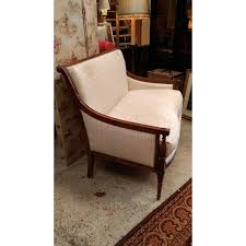 canape de style 2 seater sofa or marquise louis xvi style of the xixth century l