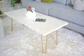 Marble Coffee Table Diy Marble Coffee Table
